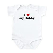 I Love my Hubby Infant Bodysuit