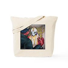 Satan's True Face Tote Bag