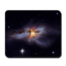 Black Holes Go 'Mano a Mano' Mousepad