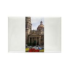 Guadalajara Church Rectangle Magnet