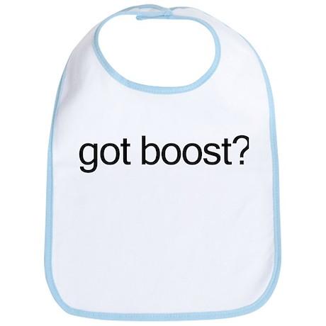 got boost? Bib