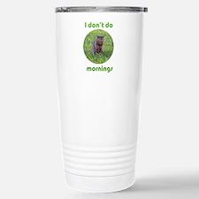 Don't Do Mornings Travel Mug