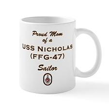 USS Nicholas Mom Mug