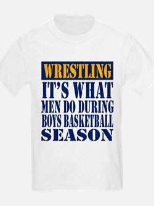Boys Basketball Season T-Shirt