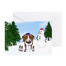 Red Aussie Holiday Greeting Cards (Pk of 10)