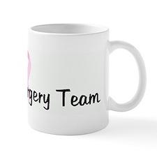 Palomar Surgery Team pink rib Mug
