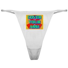COVER YOUR ASS! Classic Thong