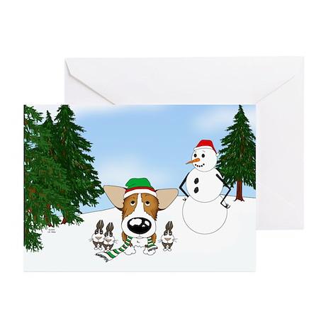 Corgi Holiday Greeting Cards (Pk of 10)
