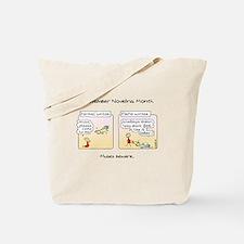 Funny National novel writing month Tote Bag