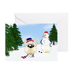French Bulldog Holiday Greeting Cards (Pk of 20)