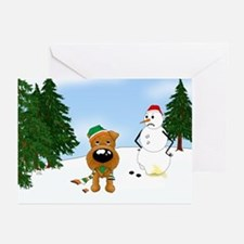 Irish Terrier Holiday Greeting Cards (Pk of 20)