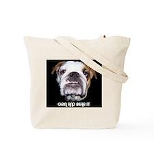 I LOVE BULLDOGS Tote Bag