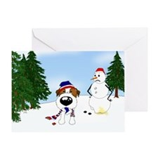 Jack Russell Terrier Holiday Greeting Card