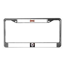 I LOVE BULLDOGS License Plate Frame