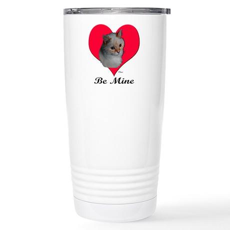 Kekoe the Cat's Valentine Stainless Steel Travel M
