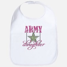 Army Daughter Bib