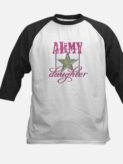 Army Daughter Kids Baseball Jersey