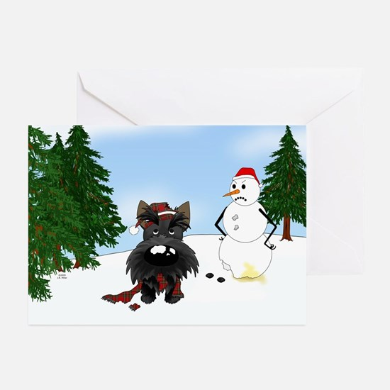 Scottish Terrier Holiday Greeting Cards (Pk of 10)