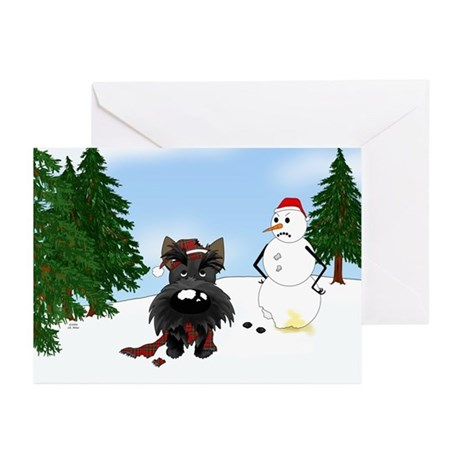 Scottish Terrier Holiday Greeting Cards (Pk of 20)