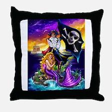 Captain Alejandro Throw Pillow