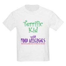 Terrific Kid with Food Allergies T-Shirt