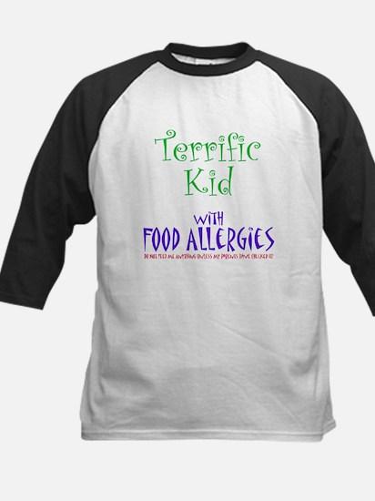 Terrific Kid with Food Allergies Kids Baseball Jer