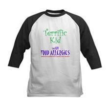 Terrific Kid with Food Allergies Tee