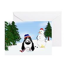 Springer Spaniel Holiday Greeting Cards (Pk of 10)