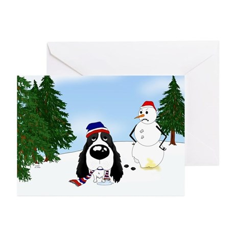 Springer Spaniel Holiday Greeting Cards (Pk of 20)