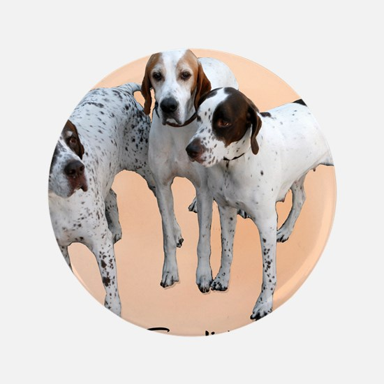 "English Pointers 3.5"" Button"