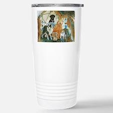Dreamcatcher with 5 dogs Travel Mug