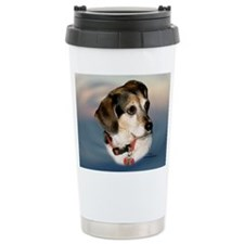 Sugar the Beagle Travel Coffee Mug