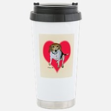 Daisy the Beagle Travel Mug