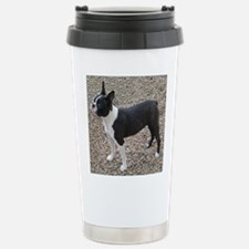 Boston Terrier Pup2 Stainless Steel Travel Mug