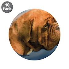 """Megan, Dogue de Bordeaux 3.5"""" Button (10 pack"""