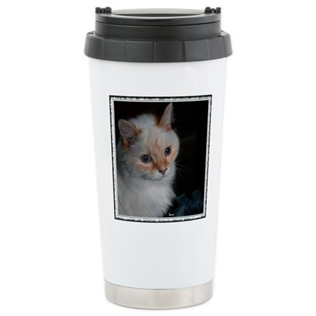 Kekoe, One Great Cat! Stainless Steel Travel Mug