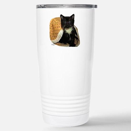 Kitten McDuff Stainless Steel Travel Mug