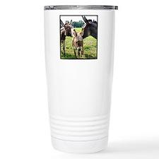 Miniature Donkey Family Travel Mug