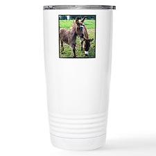 Baby Miniature Donkey & Mom Travel Mug