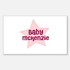 Baby Mckenzie Rectangle Decal