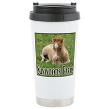 Miniature Horses Shadow Buck Travel Mug