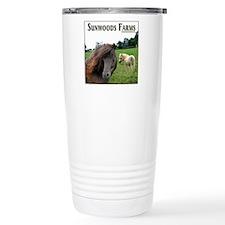 Miniature Horse Shadow Buck & Travel Mug