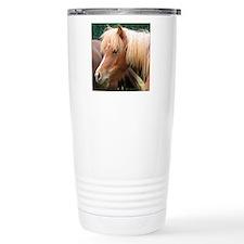 Classic Mini Horse Portrait Travel Mug