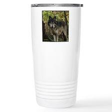 Wolf Spirit Travel Coffee Mug