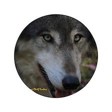 """Grey Wolf: Ingo 3.5"""" Button"""
