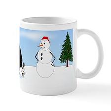Black Lab Holiday Mug