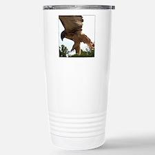 Ostara, Red Tailed Hawk Landi Travel Mug
