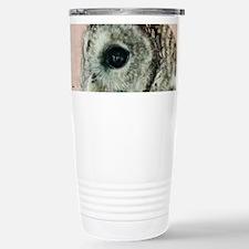 Arki the Barred Owl Travel Mug