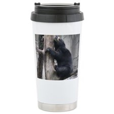 Sun Bear Hugging Tree Travel Mug