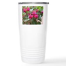 Bleeding Hearts Flower Travel Mug